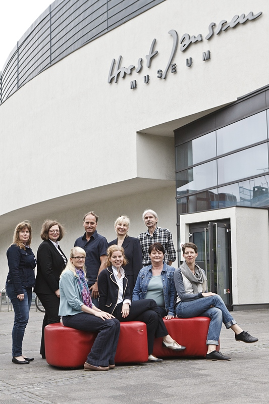 The staff of the Horst-Janssen-Museum. Photo: Gerlinde Domininghaus